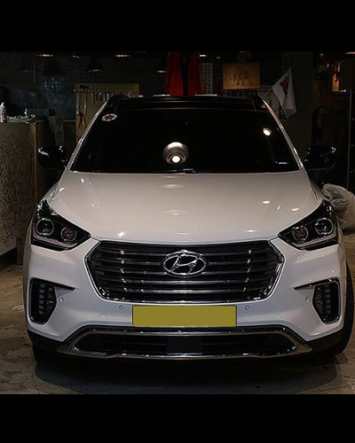 BODY KIT HYUNDAI SANTAFE 2014 MẪU FACELIFT 2017