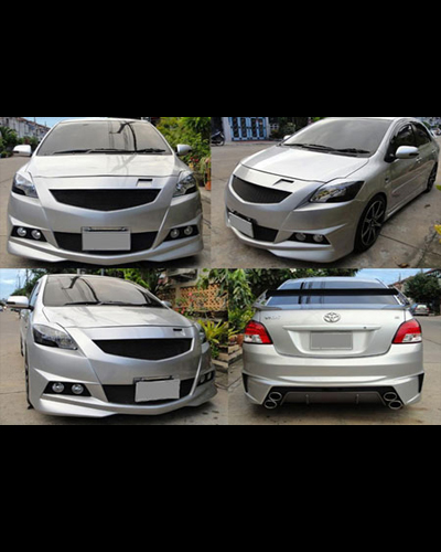 BODY KIT VIOS 2007-2012 MẪU KAIMERA