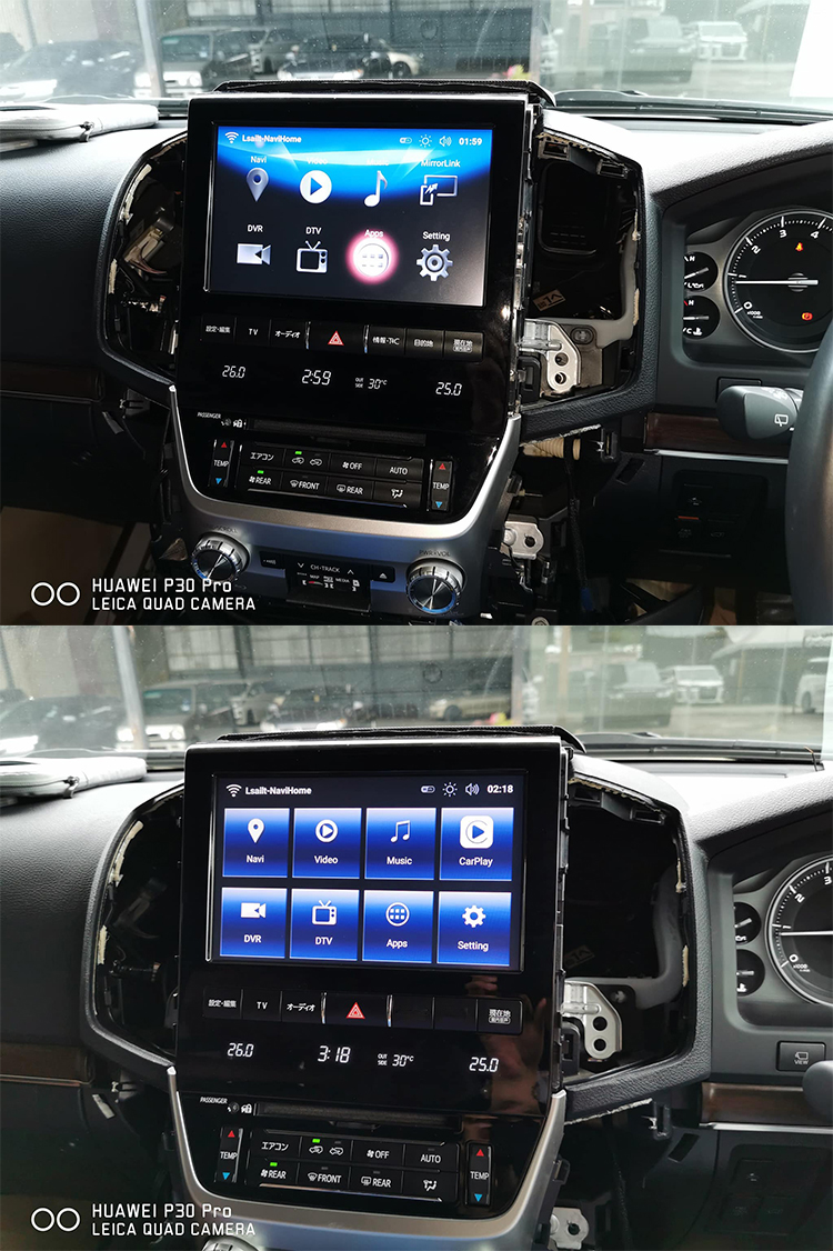INTERFACE ANDROID AUTO&WIRELESS CARPLAY LAND CRUISER
