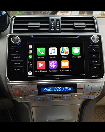 ACI (ANDROID AUTO&CARPLAY) CHO PRADO 2019