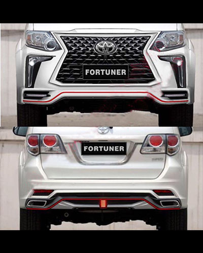 BODY KIT FORTUNER 2012-2015 MẪU GX