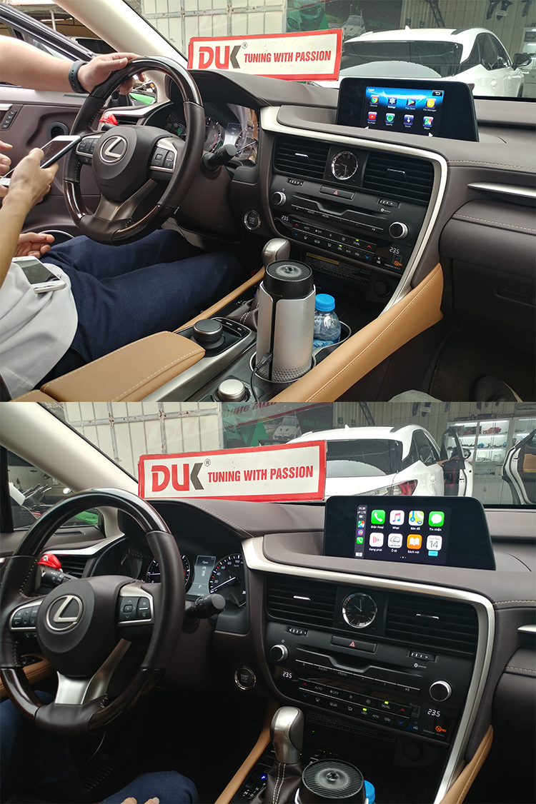 INTERFACE ANDROID AUTO VÀ WIRELESS CARPLAY RX 2010-2019