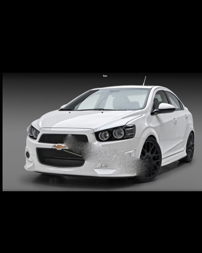 BODY KIT AVEO 2017 MẪU LP