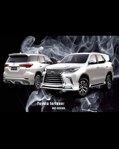 BODY KIT FORTUNER 2016 MẪU LEXUS 570