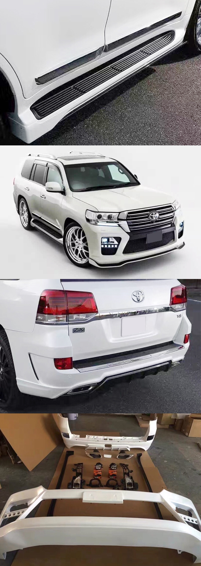 BODY KIT LAND CRUISER 2016 MẪU ELFORD