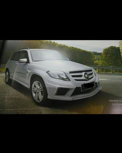 BODY KIT MERCEDES GLK 2013 MẪU DY