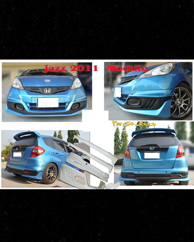 BODY KIT MẪU MODULO HONDA FIT 2011