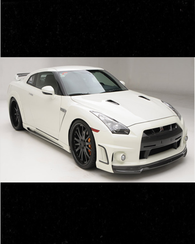 BODY KIT MẪU R35 SPORTS LINE BLACK BISON EDITION NISSAN GT-R R35
