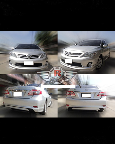 BODY LIP ALTIS 2011 MẪU TRD