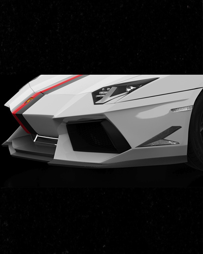 BODY LIP CARBON LAMBOGHINI AVENTADOR
