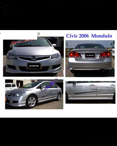 BODY LIP CIVIC 06~08 MẪU MODULO