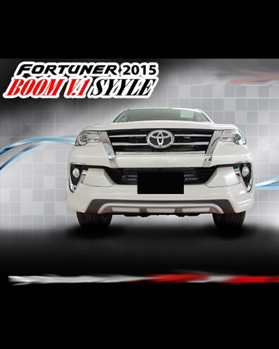 BODY KIT FORTUNER 2016 MẪU BOOM V1