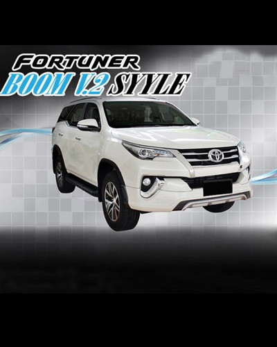 BODY KIT FORTUNER 2016 MẪU BOOM V2