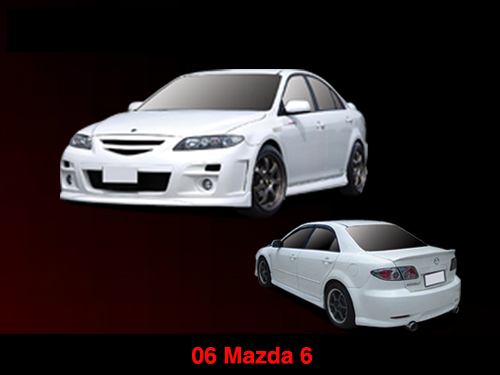 BODY KIT MẪU 306 LC MAZDA 6