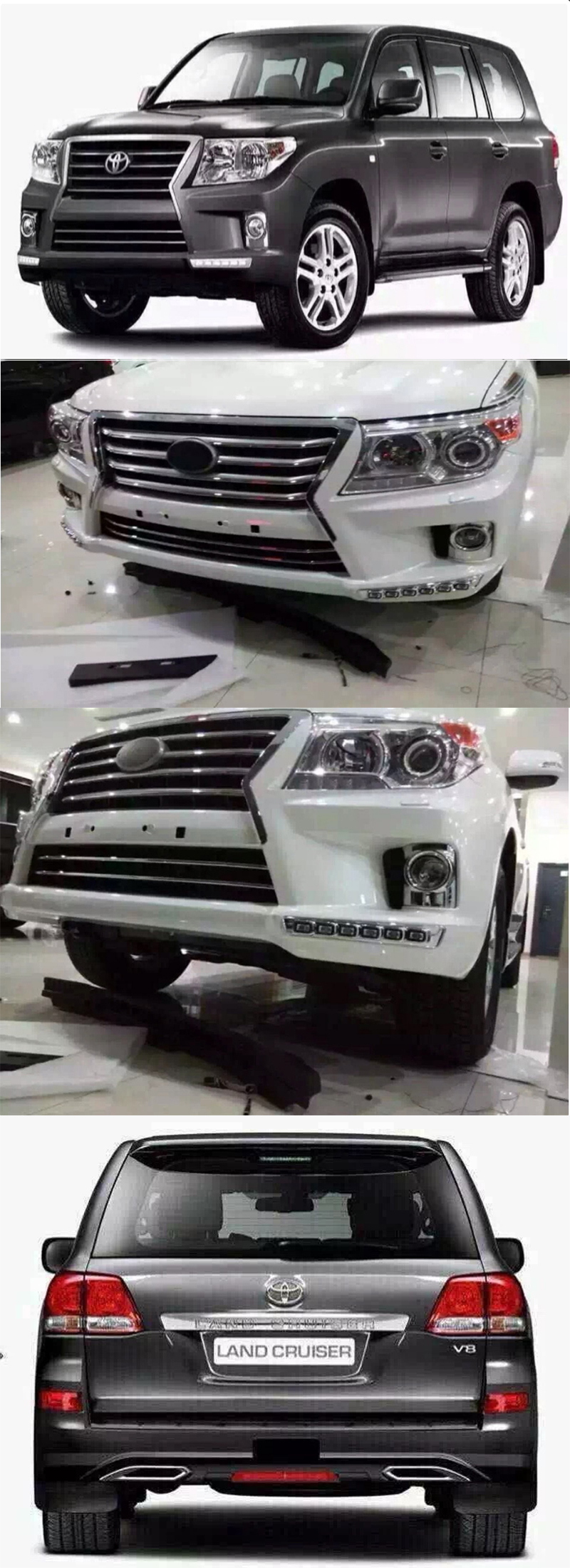 BODY KIT LAND CRUISER 2011-2015 MẪU LC