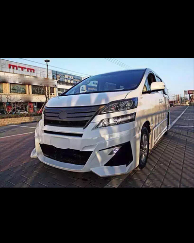 BODY KIT ALPHARD 2016 MẪU WALD 1