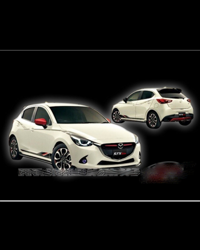 BODY LIP MAZDA 2 2015 HATCHBACK MẪU SPEED