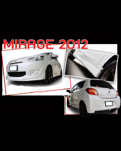 BODY KIT MIRAGE 2012 MẪU K1
