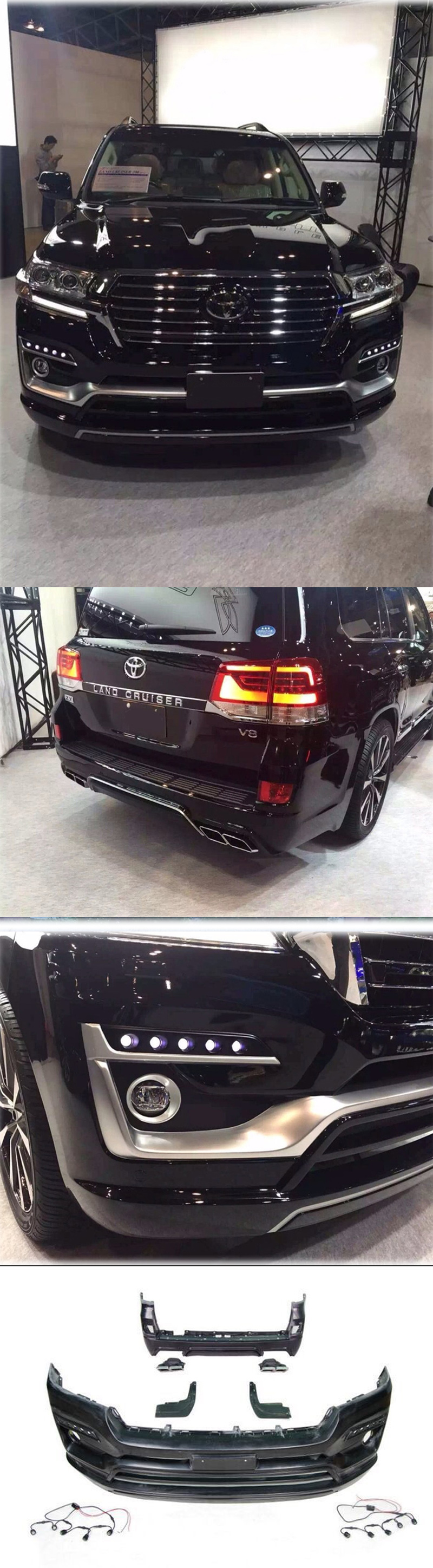 BODY KIT LAND CRUISER 2016 MẪU DE