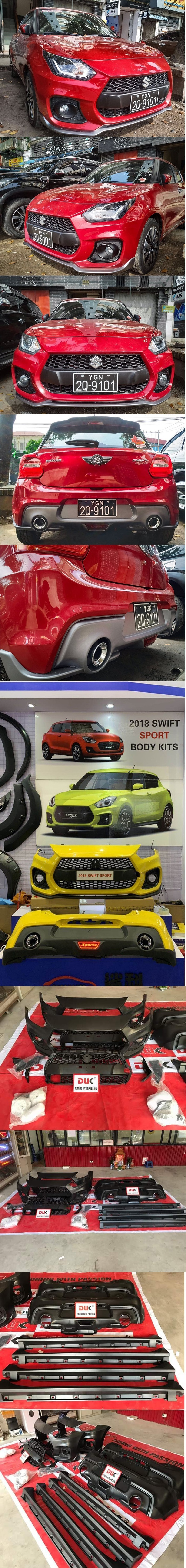 BODY KIT SPORT CHO SUZUKI SWIFT 2019