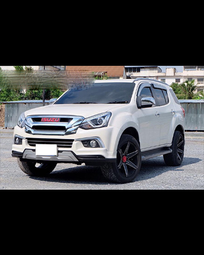 BODY KIT ISUZU MU-X 2017 MẪU ZAMURAI