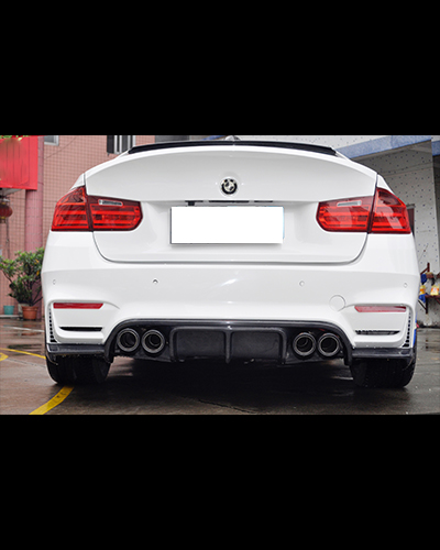 LIP SAU CARBON BMW F30 MẪU CT