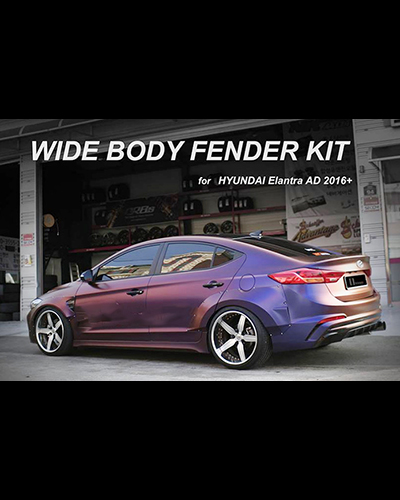 WIDE BODY KIT ELANTRA 2016