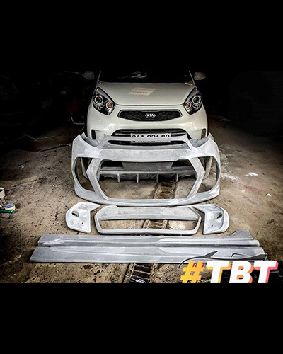 BODY KIT MORNING 2012-2016 MẪU LP